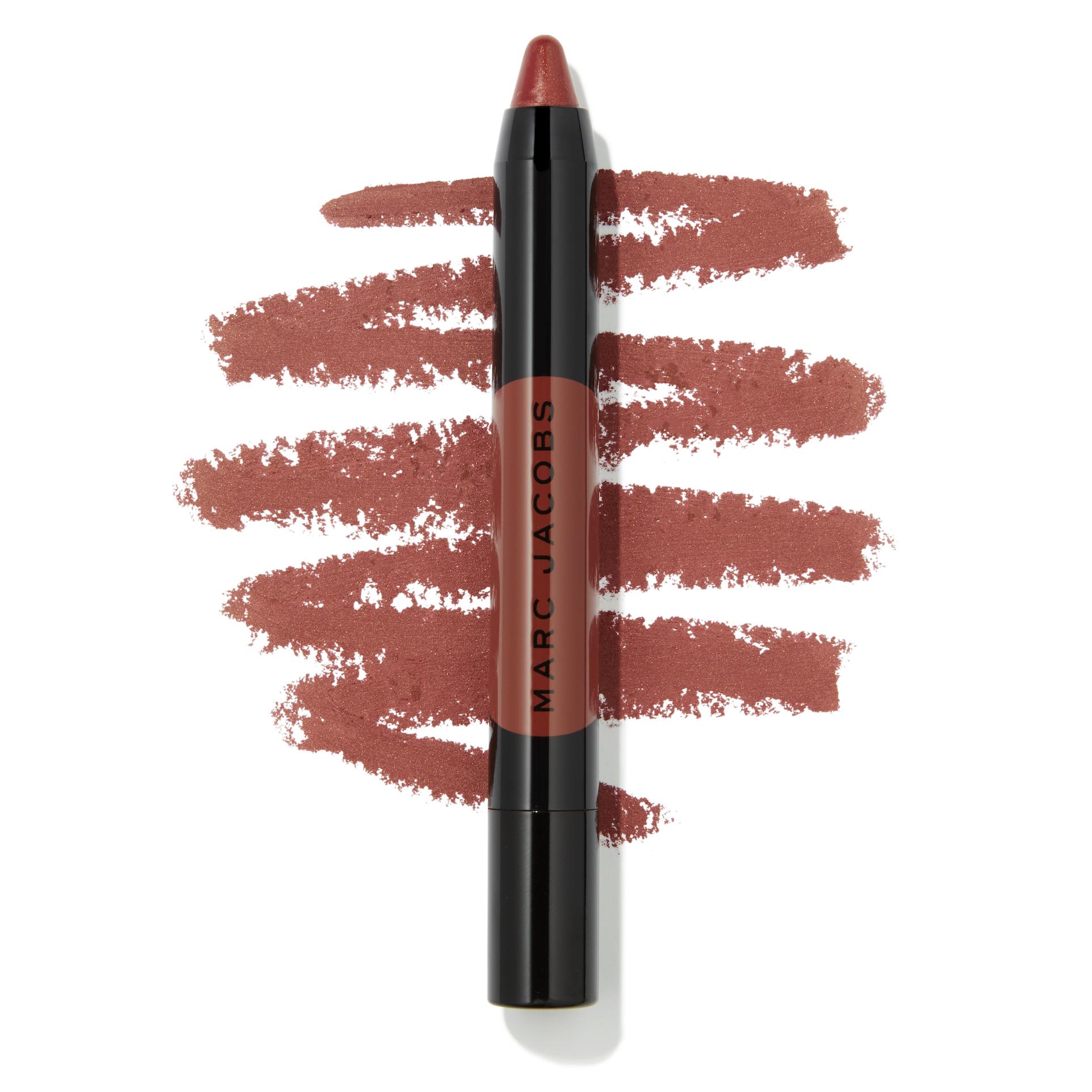 Marc Jacobs Beauty Le Marc Liquid Lip Crayon - Burn Notice Swatch - AED 125