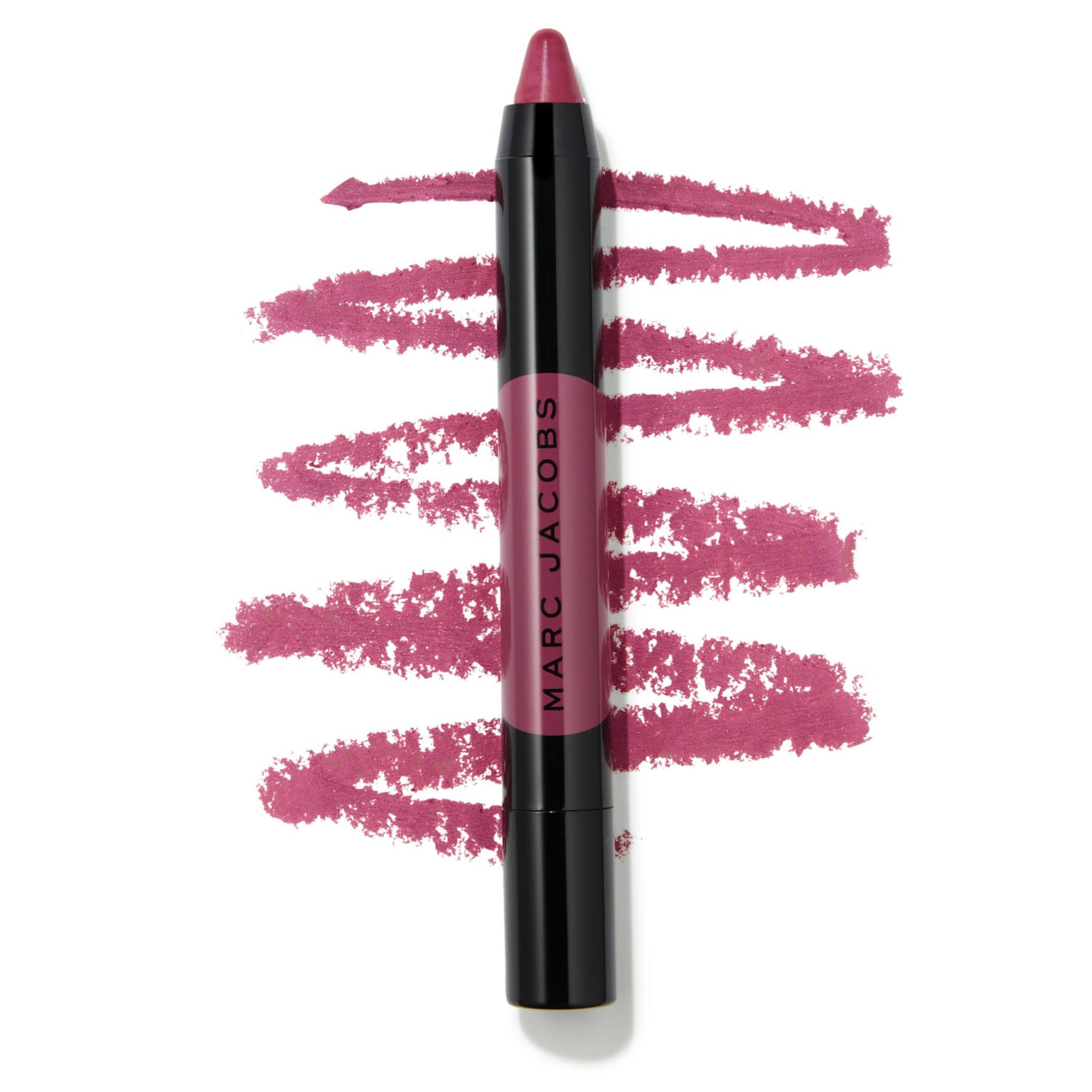 Marc Jacobs Beauty Le Marc Liquid Lip Crayon - Pink Straight Swatch - AED 125
