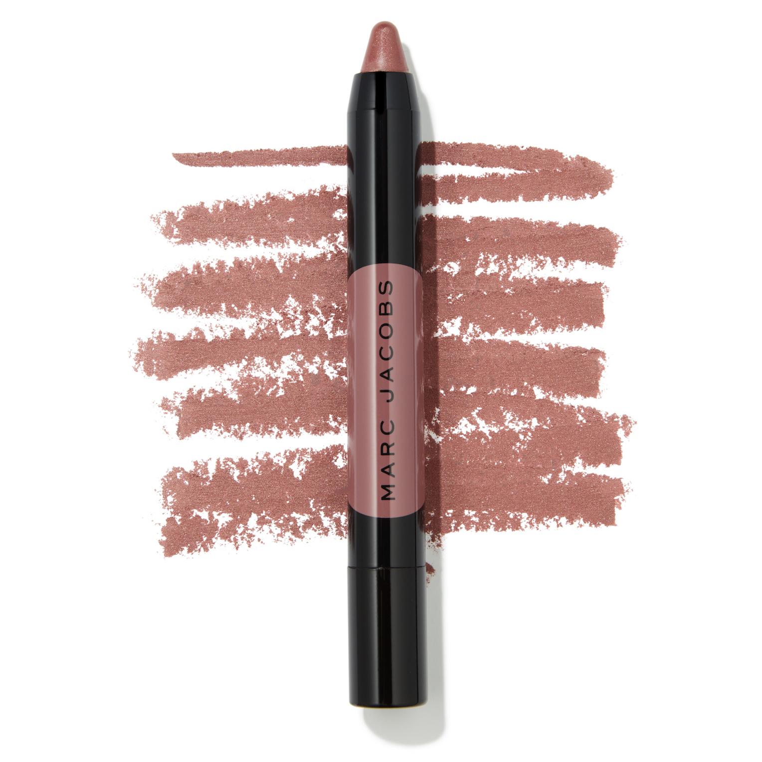 Marc Jacobs Beauty Le Marc Liquid Lip Crayon - Send Nudes Swatch - AED 125