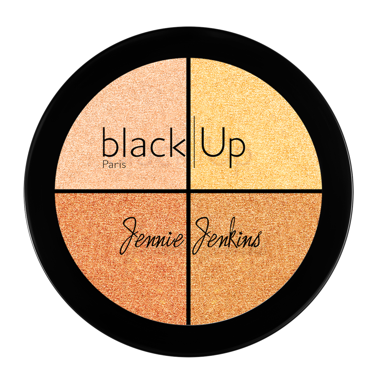 Black Up x Jenny Jenkins Highlighter Palette N2 - AED