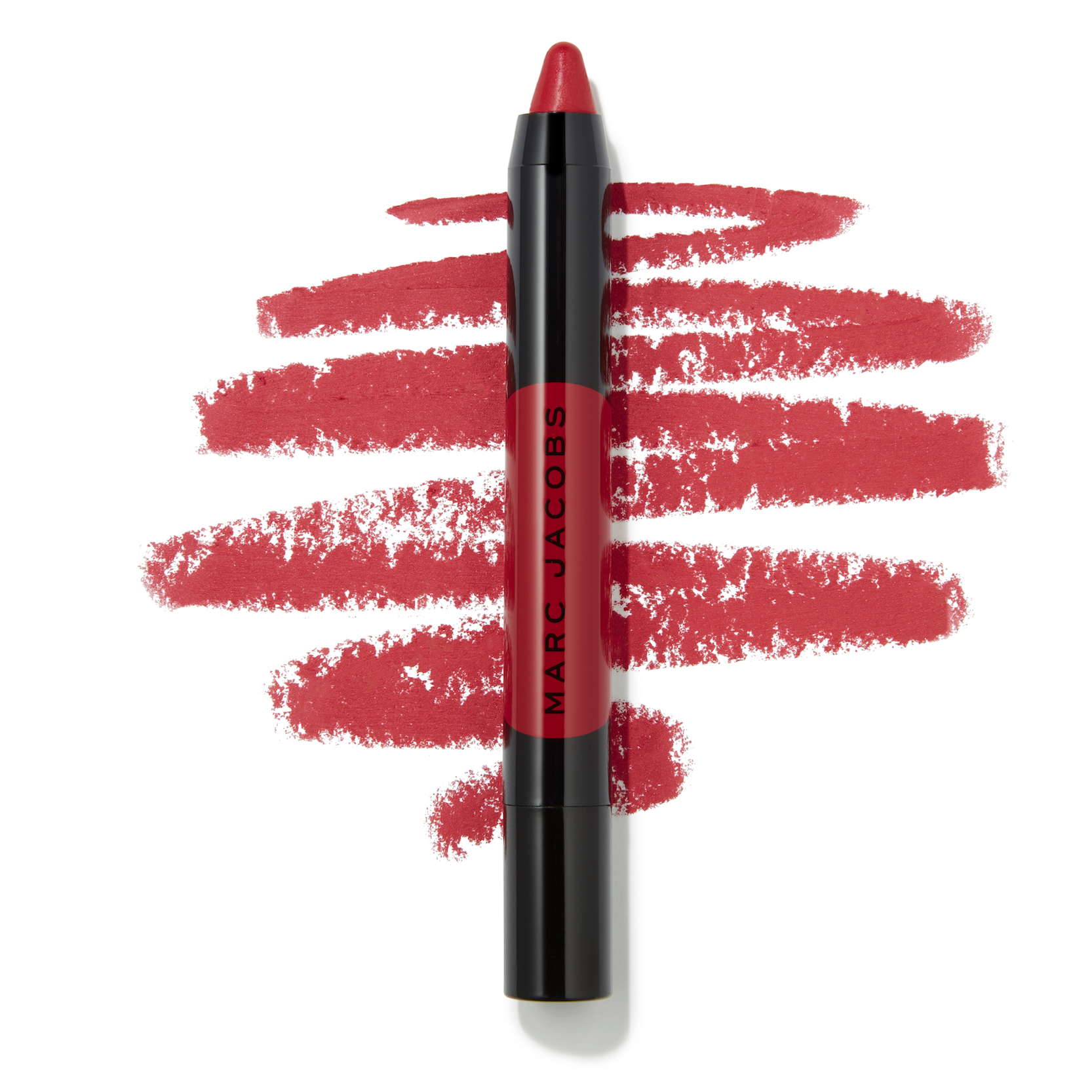 Marc Jacobs Beauty Le Marc Liquid Lip Crayon - How Rouge Swatch - AED 125