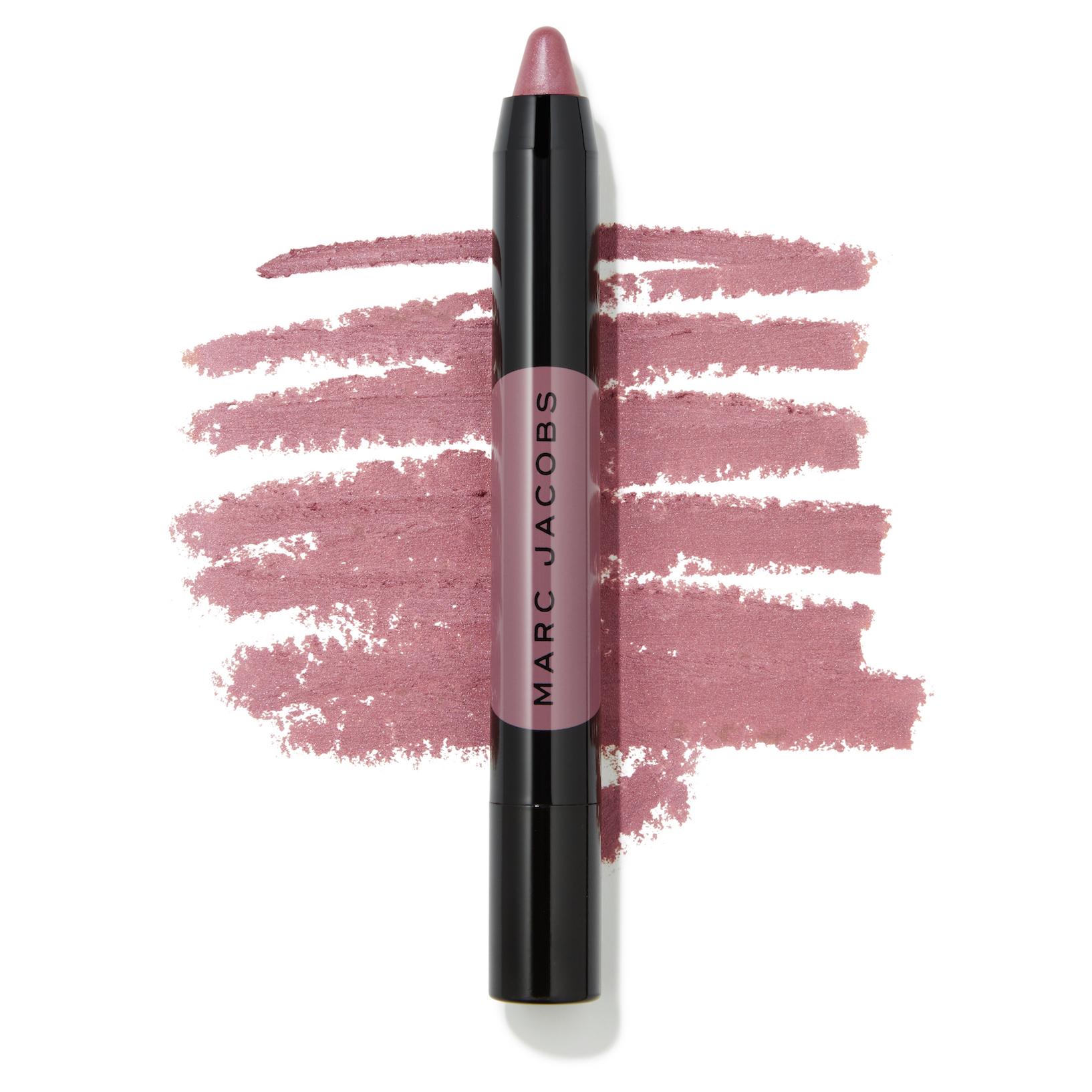Marc Jacobs Beauty Le Marc Liquid Lip Crayon - Night Mauve Swatch - AED 125