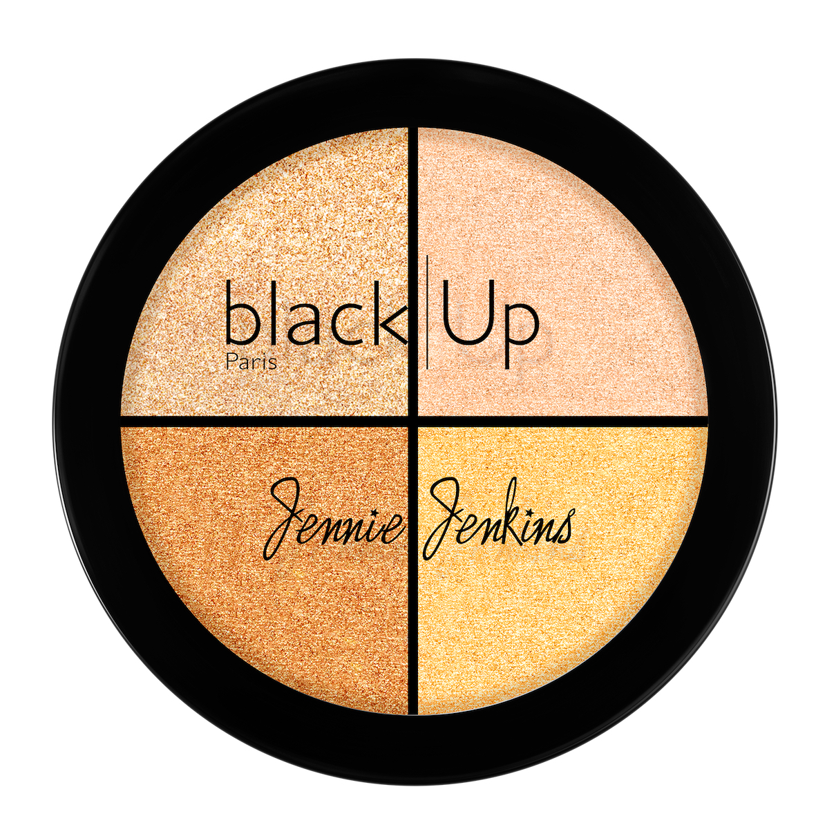 Black Up x Jenny Jenkins Highlighter Palette - AED