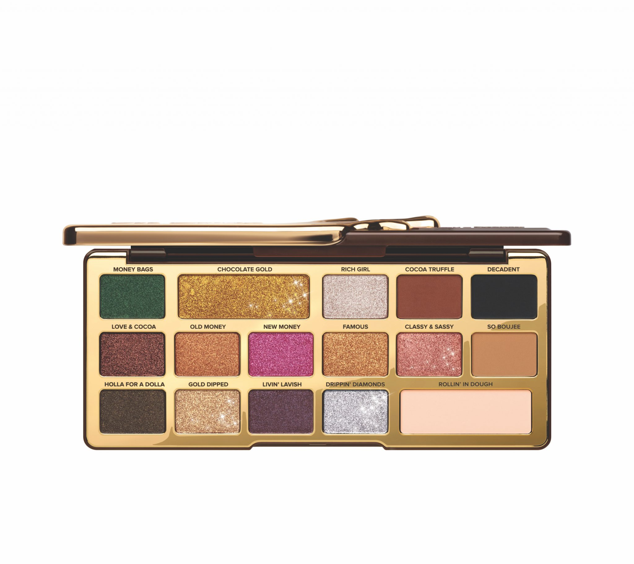Chocolate Gold Palette Half Open - AED 269