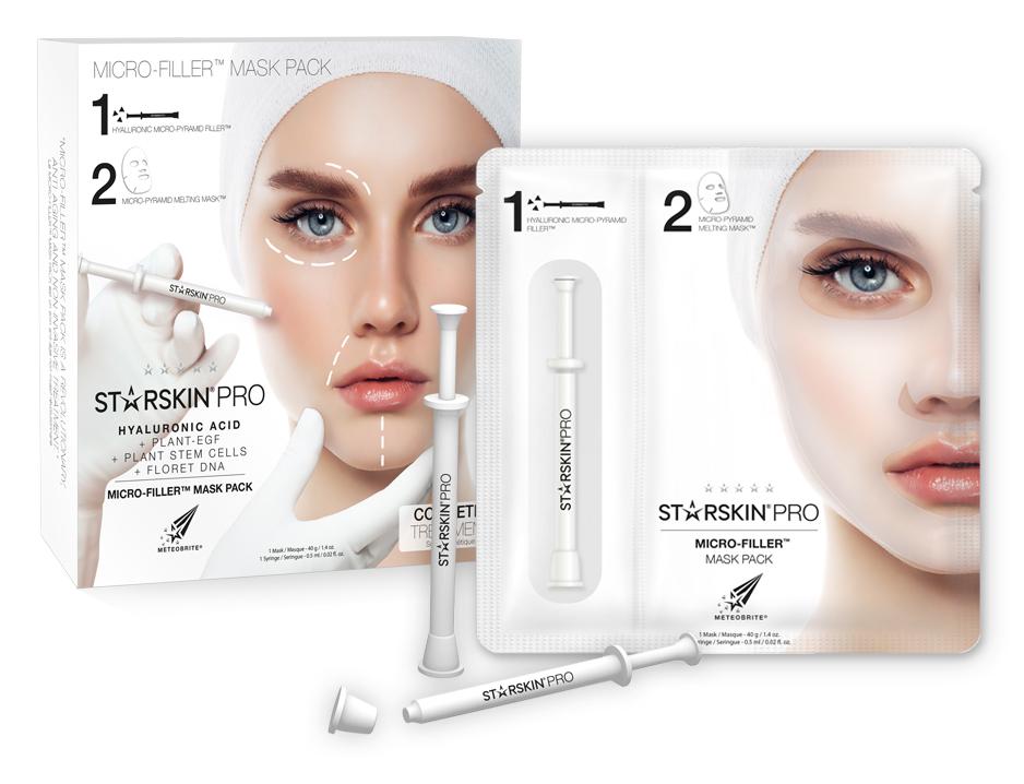 STARSKIN Micro-Filler Mask Pack - 2
