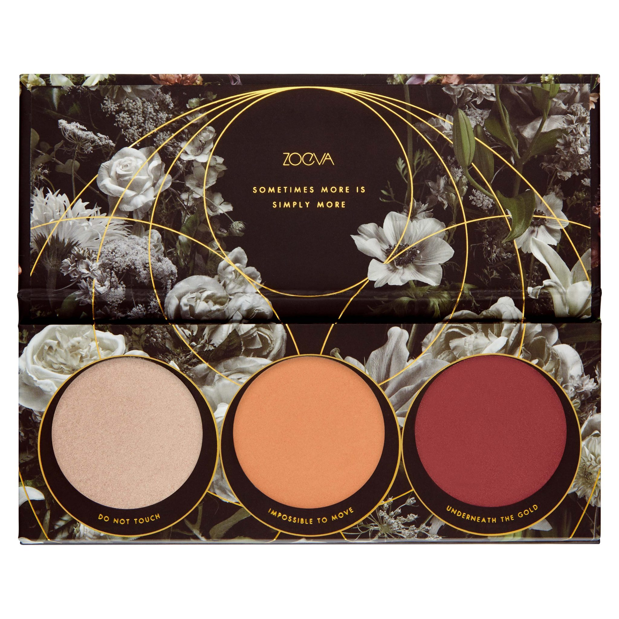 ZOEVA Opulence Blush Palette Open - AED 80