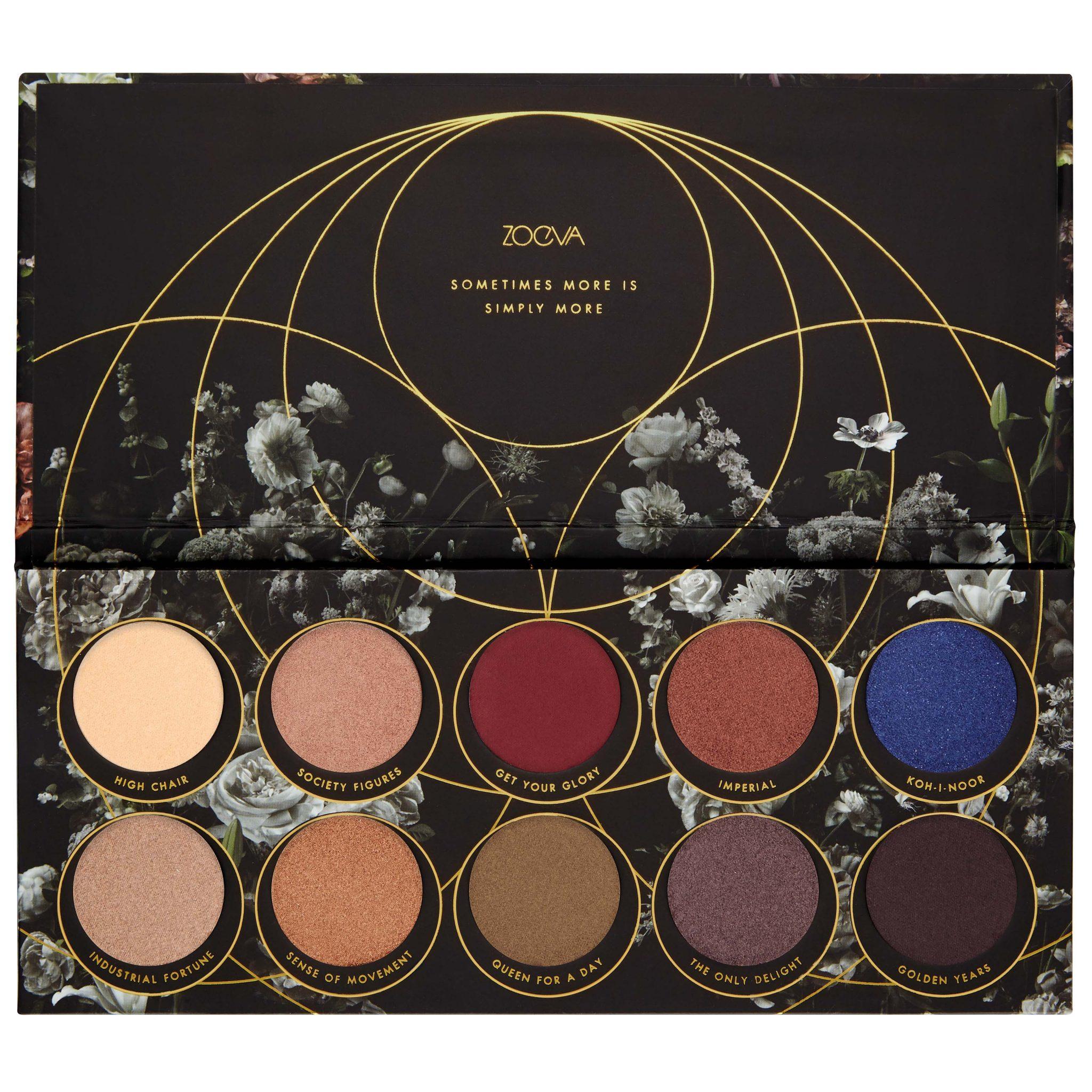 ZOEVA Opulence Eyeshadow Palette Open - AED 116