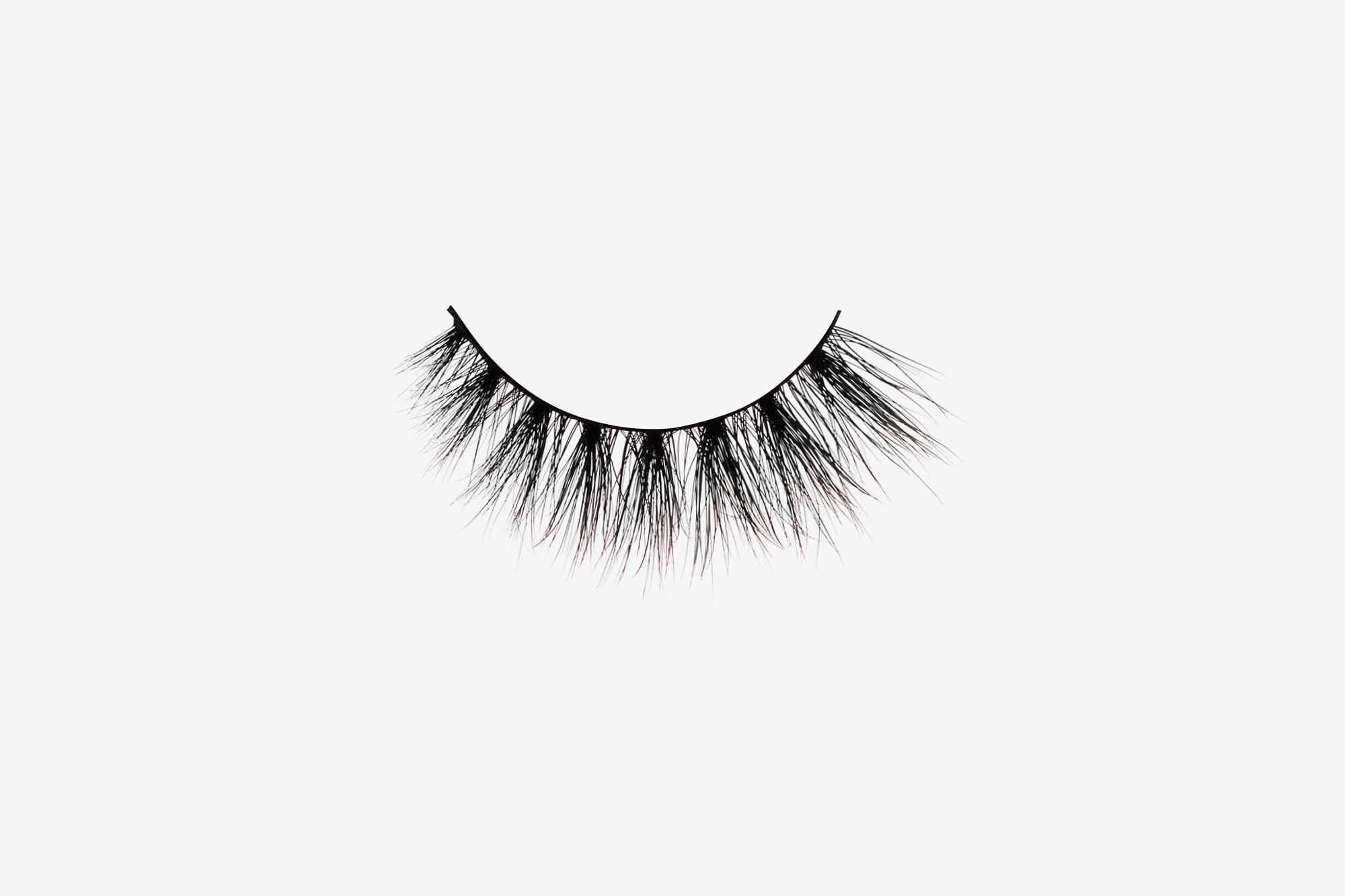 5620f624bf9 Lola Mink Lashes, single false lash on grey background
