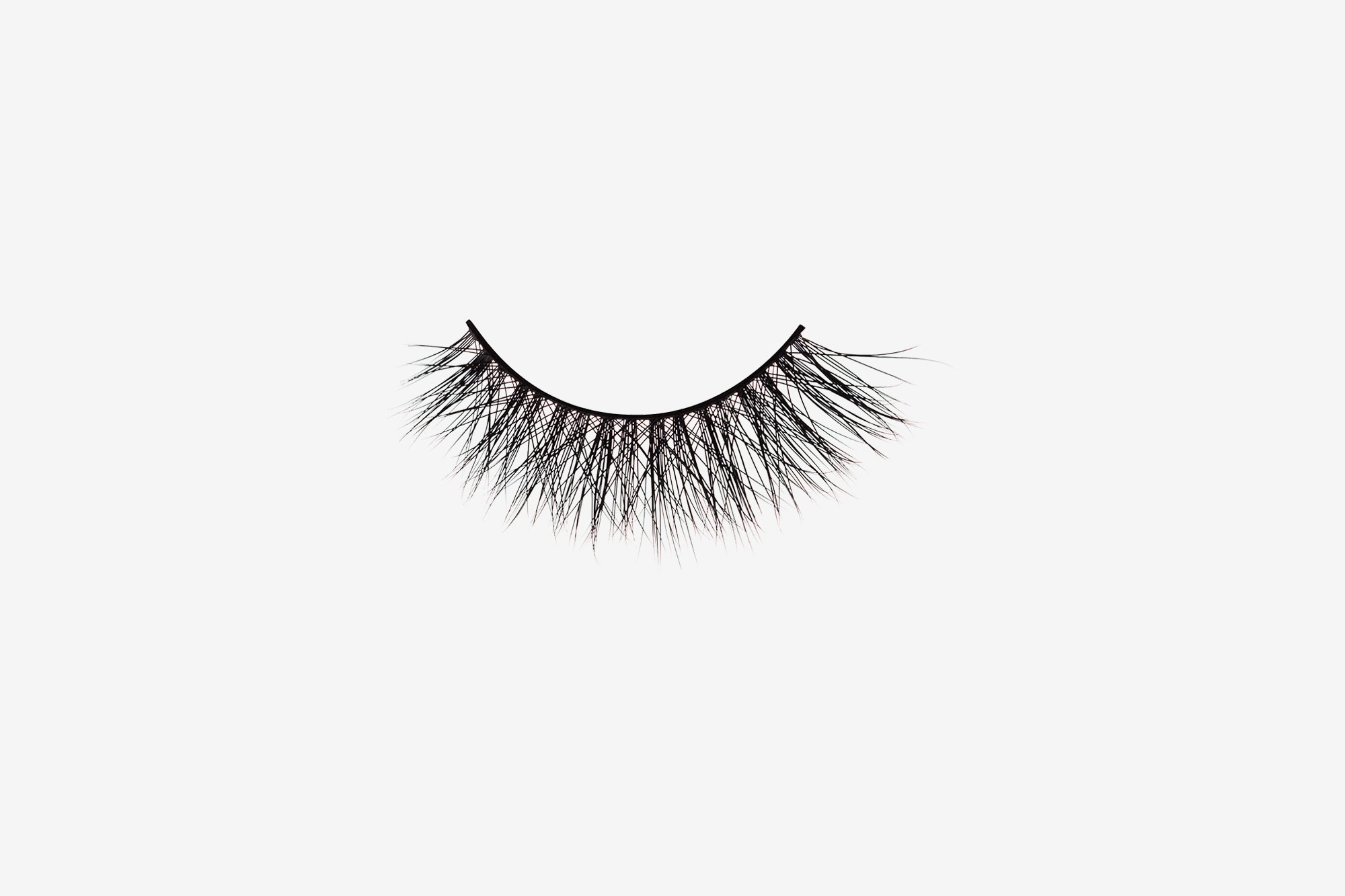 1707874abb9 Olivia Mink Lashes, single false lash on grey background
