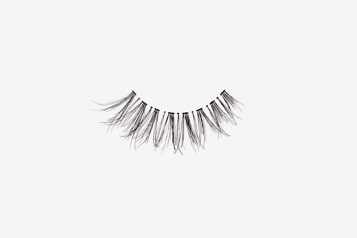 Carey False Eyelashes, single false lash on grey background