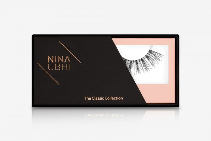 Daisy False Eyelashes, false eyelashes in a Nina Ubhi branded box