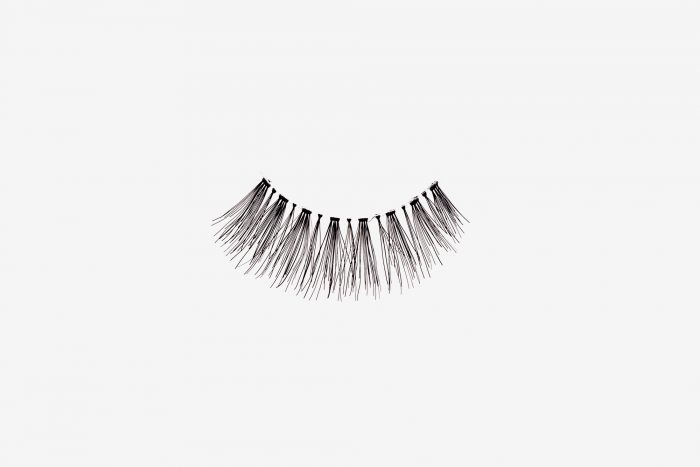 Ivy False Eyelashes, single false lash on grey background