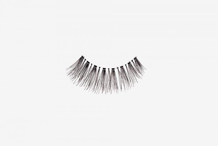 Ivy False Eyelashes, single false lash on grey background