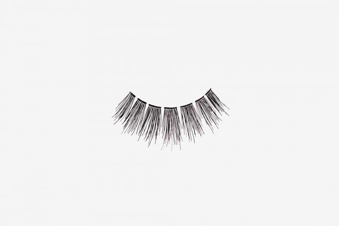 Kimberley False Eyelashes, single false lash on grey background