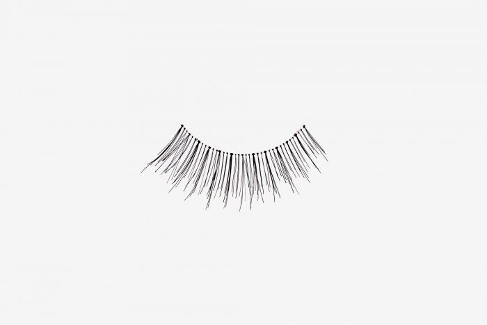 Lilly False Eyelashes, single false lash on grey
