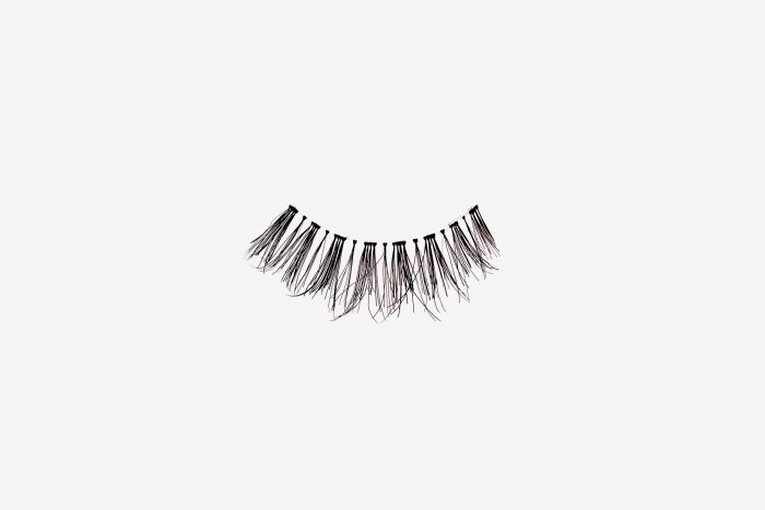 Penelopy False Eyelashes, single false lash on grey background