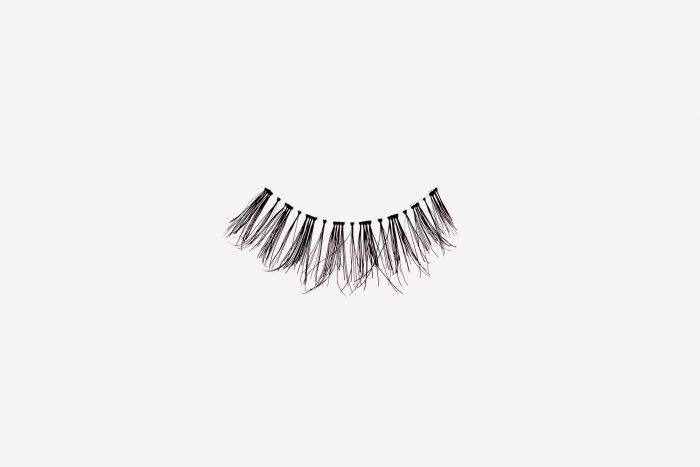 Penelopy False Eyelashes, single false lash on grey backg