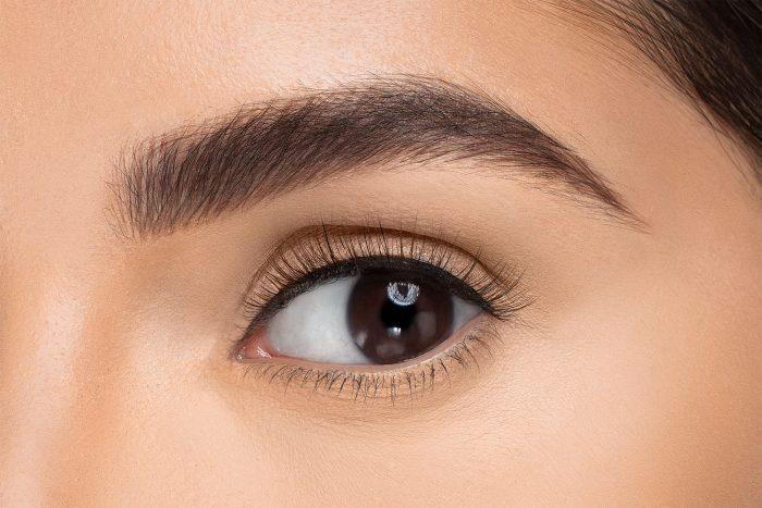 Poppy False Eyelashes, close up of ladies eye wearing false eyelash