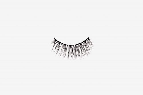 Poppy False Eyelashes, single false lash on grey background